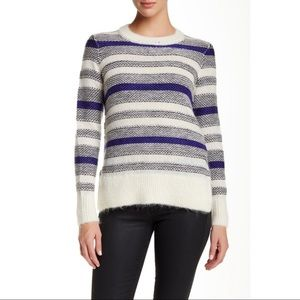 Rebecca Taylor Luxe Fluff Wool Blend Sweater